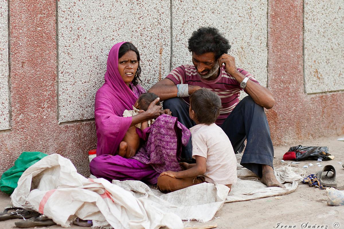 Pobreza extrema en india