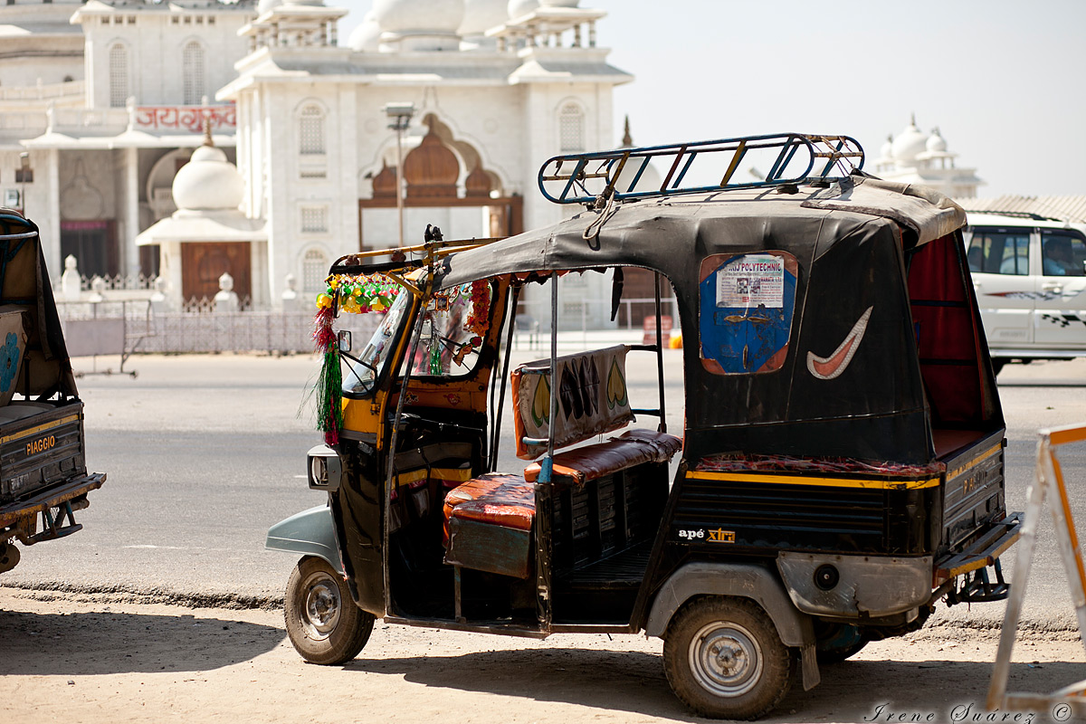 Vehiculo tipico indio