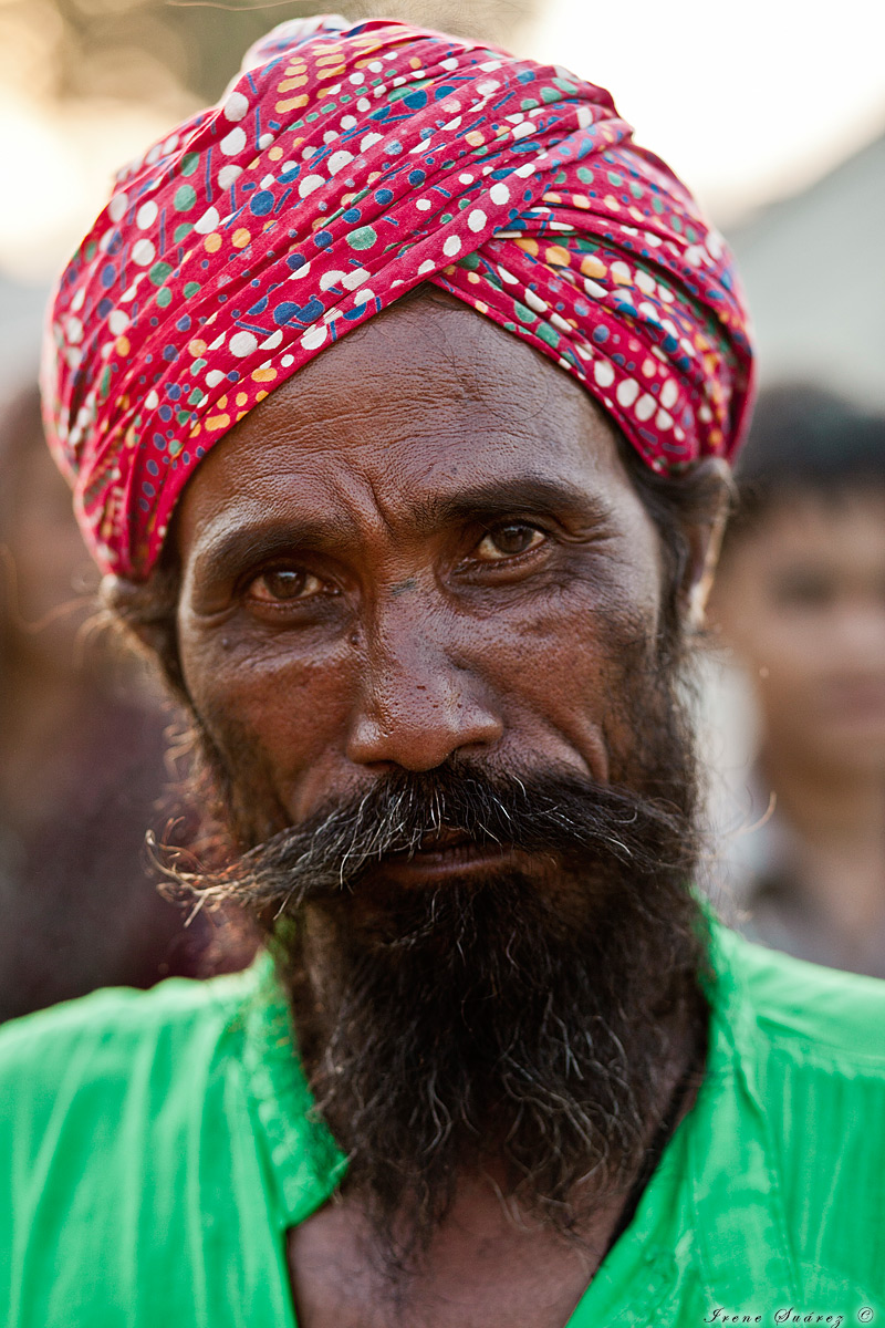 Retrato de hombre indu