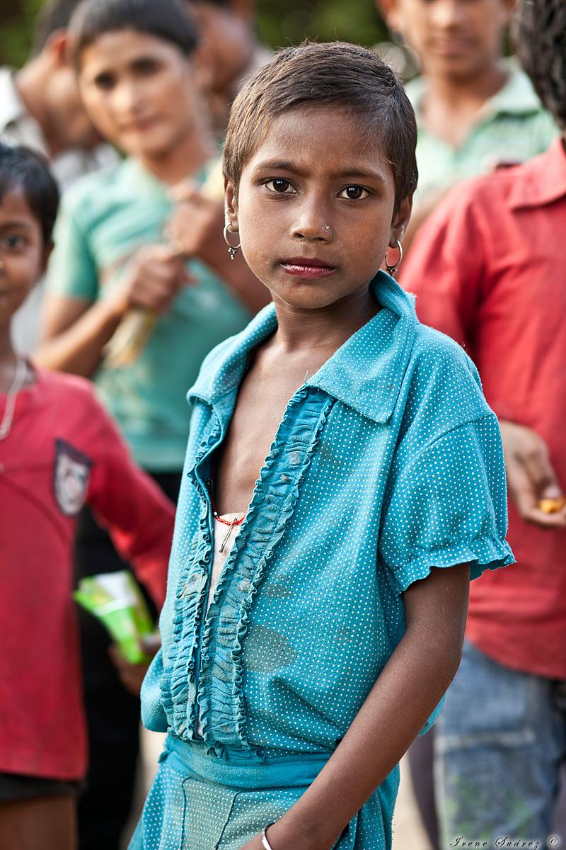 Fotos de niños en india