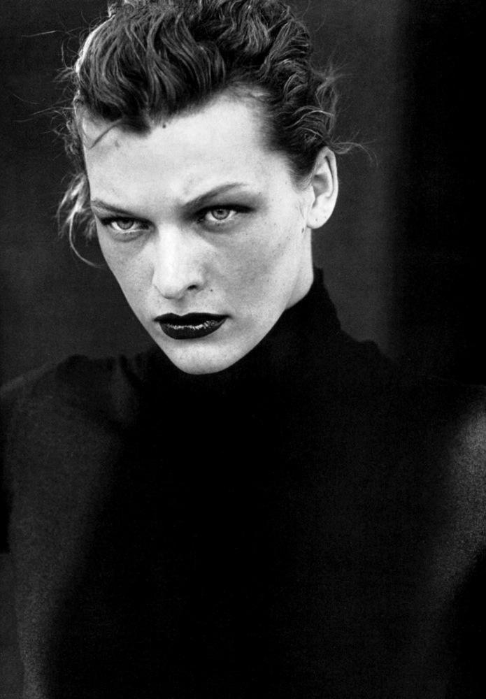 Milla Jovovich by Peter Lindberh