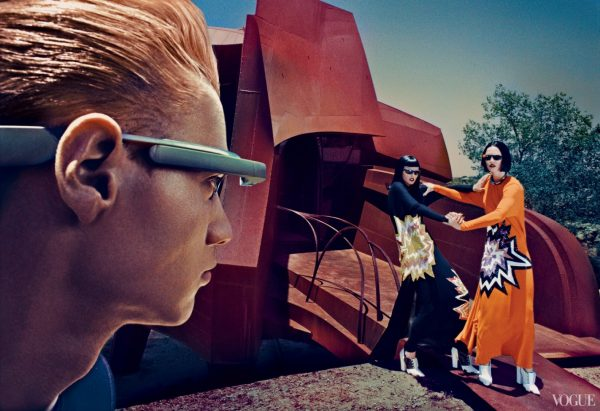 Raquel Zimmermann & Toni Garrn by Steven Klein (The Final Frontier - US Vogue September 2013) 6