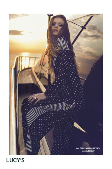 yacht fashion editorial